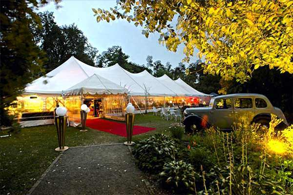 Marquee wedding party event hire Christchurch NZ