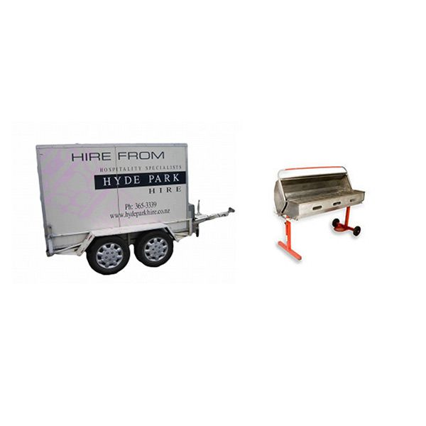 Chiller Trailer & BBQ Hire Christchurch