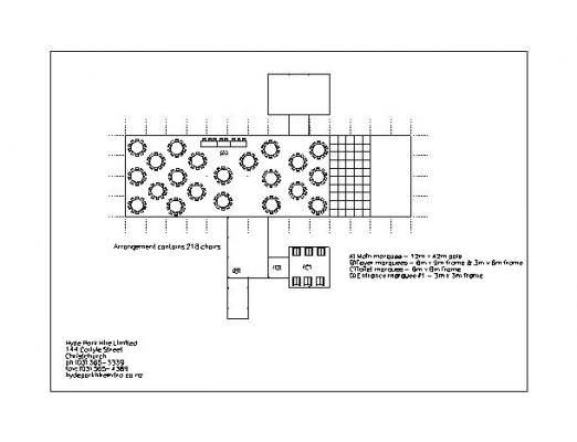 CAD Plan for a weeding