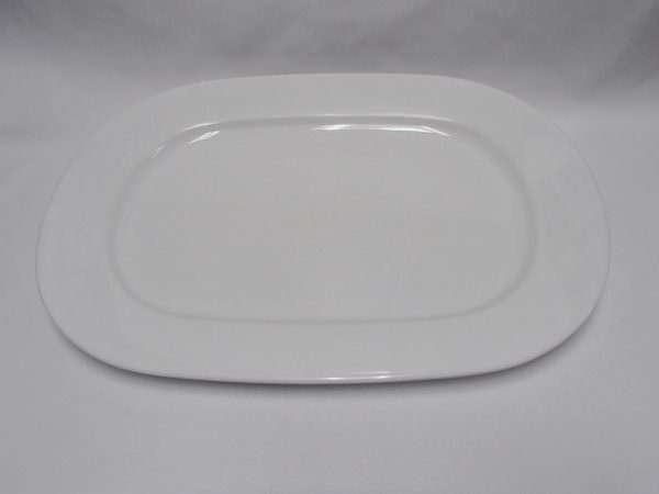 Wide White Plate