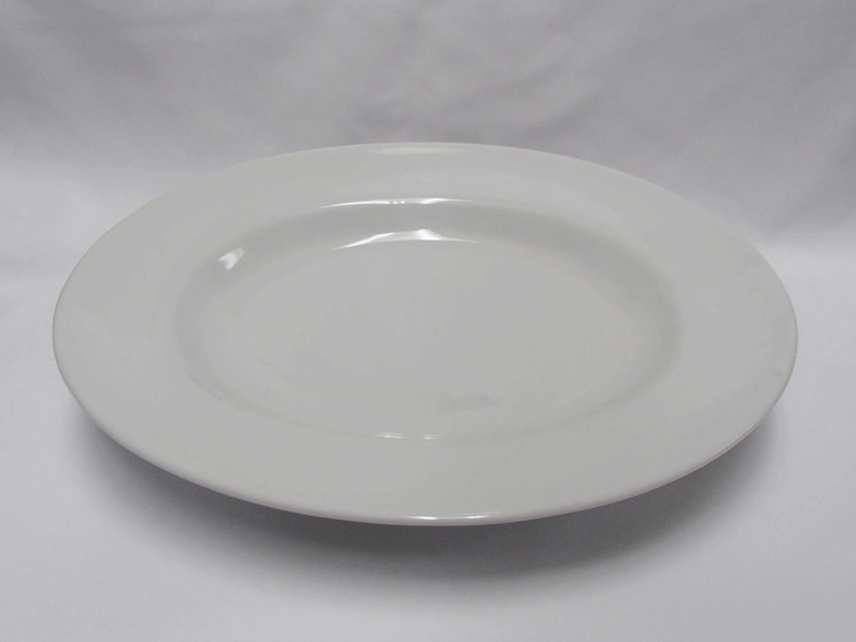 White Plate Round- Catering | HPH