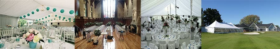 Christchurch Wedding Hire Catalog