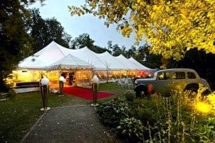 Wedding marquee hire Christchurch
